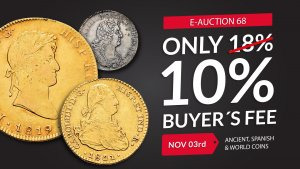 E-Auction 68 – Only 10% Buyer's Fee